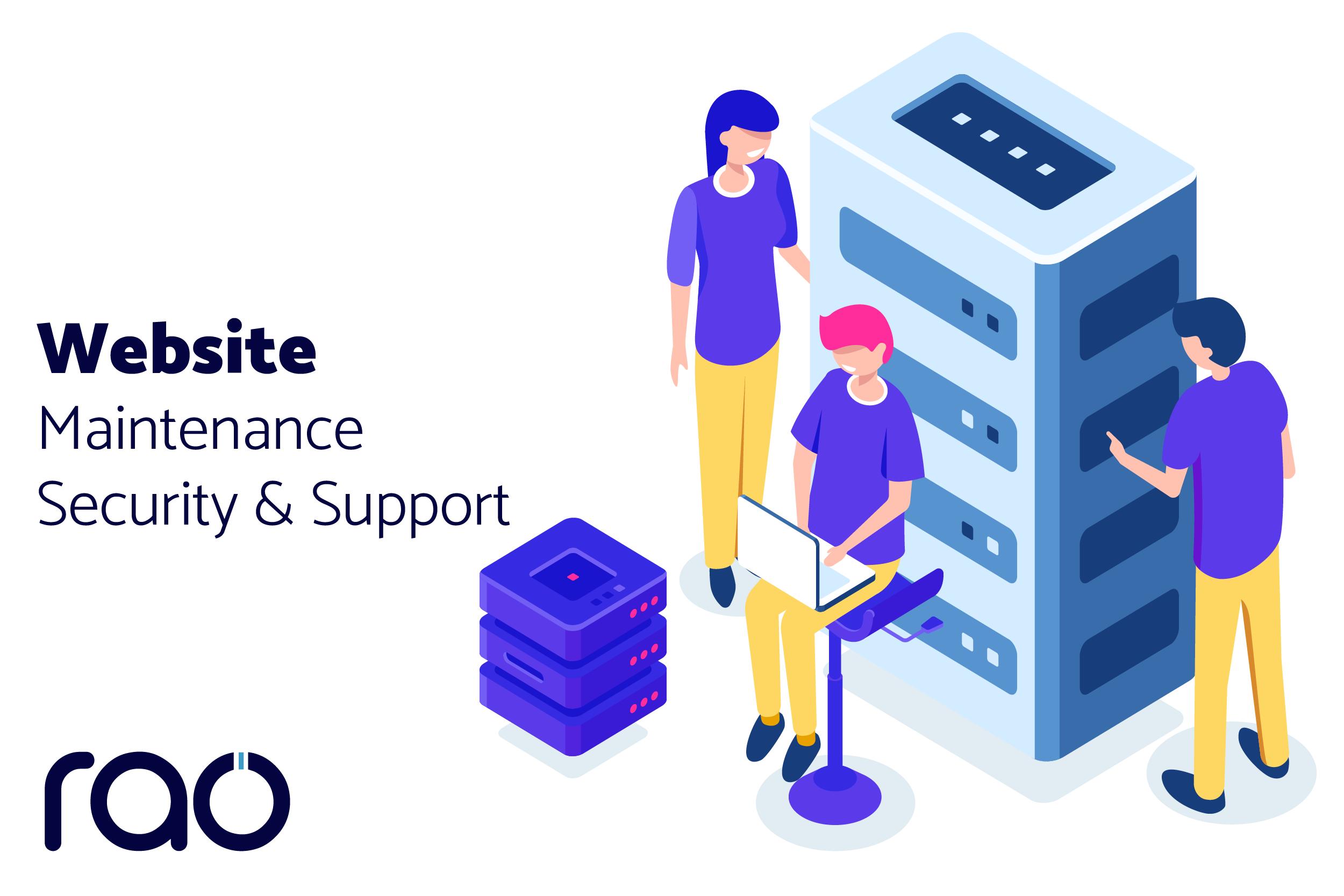 Rao Website Maintainance